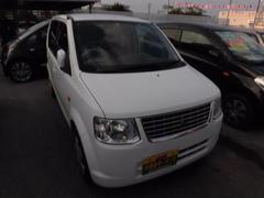 沖縄の中古車 三菱 eKワゴン 車両価格 30万円 リ済込 平成23年 9.1万K ホワイト