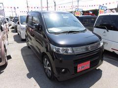 沖縄の中古車 スズキ ワゴンRスティングレー 車両価格 63万円 リ済込 平成24年 8.1万K ブラック
