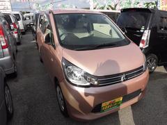 沖縄の中古車 三菱 eKワゴン 車両価格 63万円 リ済込 平成25年 5.8万K ピンク
