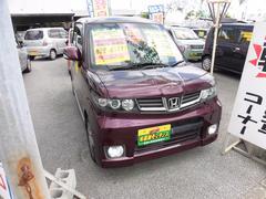 沖縄の中古車 ホンダ ゼストスパーク 車両価格 54万円 リ済込 平成22年 8.3万K ワイン