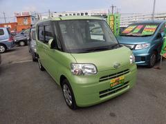 沖縄の中古車 ダイハツ タント 車両価格 54万円 リ済込 平成24年 8.9万K グリーン