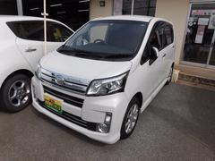 沖縄の中古車 ダイハツ ムーヴ 車両価格 64万円 リ済込 平成25年 9.1万K パール