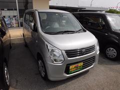 沖縄の中古車 スズキ ワゴンR 車両価格 64万円 リ済込 平成25年 2.5万K シルバー