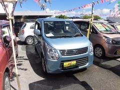 沖縄の中古車 スズキ ワゴンR 車両価格 64万円 リ済込 平成25年 2.8万K ブルー