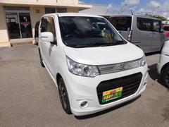 沖縄の中古車 スズキ ワゴンRスティングレー 車両価格 64万円 リ済込 平成24年 9.9万K パール