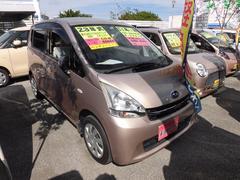 沖縄の中古車 スバル ステラ 車両価格 50万円 リ済込 平成23年 9.6万K ピンク