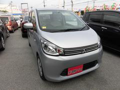 沖縄の中古車 三菱 eKワゴン 車両価格 64万円 リ済込 平成27年 2.0万K シルバー