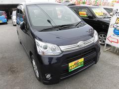 沖縄の中古車 ダイハツ ムーヴ 車両価格 63万円 リ済込 平成23年 6.3万K 紺