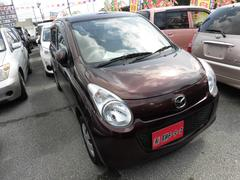 沖縄の中古車 マツダ キャロル 車両価格 33万円 リ済込 平成23年 9.8万K ブラウン