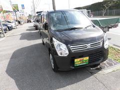 沖縄の中古車 スズキ ワゴンR 車両価格 64万円 リ済込 平成26年 5.5万K ブラウン