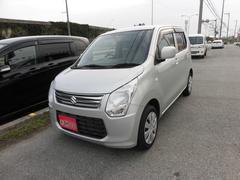 沖縄の中古車 スズキ ワゴンR 車両価格 54万円 リ済込 平成25年 7.1万K シルバー