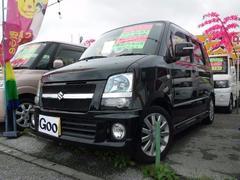 沖縄の中古車 スズキ ワゴンR 車両価格 46万円 リ済込 平成20年 10.7万K ブラック