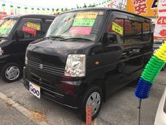 沖縄の中古車 スズキ エブリイワゴン 車両価格 46万円 リ済込 平成18年 11.6万K ブラック