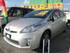 沖縄の中古車 トヨタ プリウス 車両価格 69万円 リ済込 平成22年 11.2万K シルバー