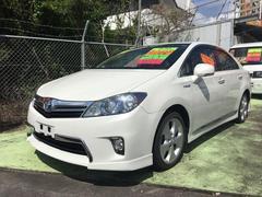 沖縄の中古車 トヨタ SAI 車両価格 99万円 リ済込 平成22年 10.2万K ホワイトパールクリスタルシャイン