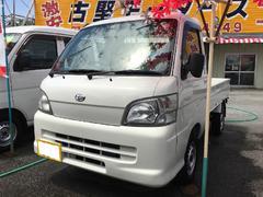 沖縄の中古車 ダイハツ ハイゼットトラック 車両価格 44万円 リ済込 平成17年 11.5万K ホワイト