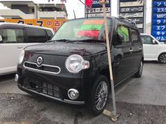 沖縄の中古車 ダイハツ ミラココア 車両価格 63万円 リ済込 平成24年 8.6万K ブラックマイカメタリック