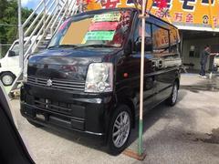沖縄の中古車 スズキ エブリイワゴン 車両価格 53万円 リ済込 平成18年 7.7万K ブルーイッシュブラックパール3