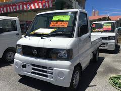 沖縄の中古車 日産 クリッパートラック 車両価格 49万円 リ済込 平成17年 8.8万K ホワイト