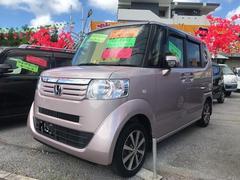沖縄の中古車 ホンダ N BOX 車両価格 73万円 リ済込 平成24年 10.6万K チェリーシェルピンクメタリック