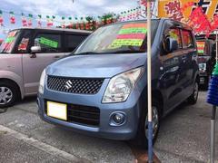 沖縄の中古車 スズキ ワゴンR 車両価格 44万円 リ済込 平成21年 9.9万K ブリーズブルーメタリック