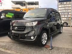 沖縄の中古車 トヨタ bB 車両価格 44万円 リ済込 平成22年 10.1万K ブラック