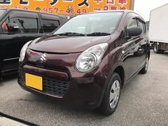 沖縄の中古車 スズキ アルト 車両価格 36万円 リ済込 平成22年 8.1万K ブラウン