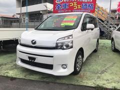 沖縄の中古車 トヨタ ヴォクシー 車両価格 75万円 リ済込 平成22年 9.0万K パール
