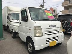 沖縄の中古車 スズキ キャリイトラック 車両価格 43万円 リ済込 平成15年 12.9万K ホワイト