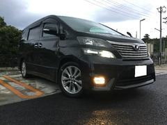 沖縄の中古車 トヨタ ヴェルファイア 車両価格 174万円 リ済込 平成22年 7.9万K ブラック