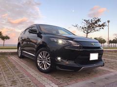 沖縄の中古車 トヨタ ハリアー 車両価格 348万円 リ済込 平成28年 2.1万K ブラックM