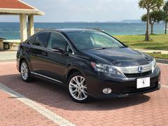 沖縄の中古車 レクサス HS 車両価格 137万円 リ済込 平成22年 9.8万K ブラックM