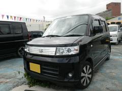 沖縄の中古車 スズキ ワゴンR 車両価格 49万円 リ済込 平成20年 9.2万K スパークブラックパール