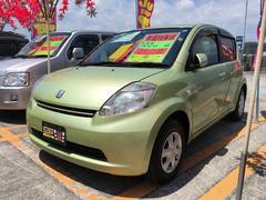 沖縄の中古車 トヨタ パッソ 車両価格 19万円 リ済込 平成18年 8.6万K ライムグリーンメタリック