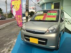 沖縄の中古車 スバル ステラ 車両価格 25万円 リ済込 平成19年 11.0万K シャンパンゴールド
