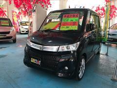 沖縄の中古車 スズキ パレットSW 車両価格 64万円 リ済込 平成21年 10.0万K ブルーイッシュブラックパール3