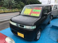 沖縄の中古車 ホンダ ザッツ 車両価格 17万円 リ済込 平成17年 9.4万K ブラック