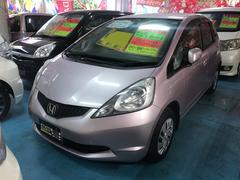 沖縄の中古車 ホンダ フィット 車両価格 39万円 リ済込 平成20年 5.3万K クールロゼメタリック
