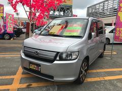 沖縄の中古車 ホンダ モビリオスパイク 車両価格 35万円 リ済込 平成20年 9.7万K シルバー