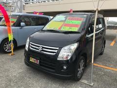 沖縄の中古車 スズキ ワゴンR 車両価格 52万円 リ済込 平成22年 9.6万K ブラック