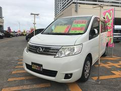 沖縄の中古車 日産 セレナ 車両価格 49万円 リ済込 平成20年 9.9万K パール