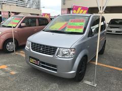 沖縄の中古車 三菱 eKワゴン 車両価格 44万円 リ済込 平成24年 8.6万K シルバー
