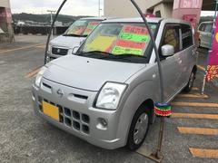 沖縄の中古車 日産 ピノ 車両価格 28万円 リ済込 平成21年 10.3万K シルバー