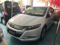 沖縄の中古車 ホンダ インサイト 車両価格 63万円 リ済込 平成21年 6.6万K スペクトラムホワイトパール