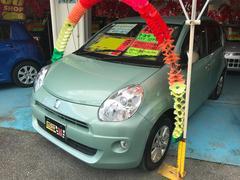 沖縄の中古車 トヨタ パッソ 車両価格 39万円 リ済込 平成22年 9.0万K ウグイスメタリック