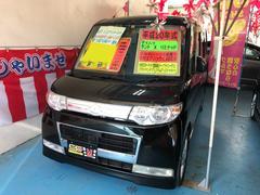 沖縄の中古車 ダイハツ タント 車両価格 48万円 リ済込 平成20年 11.1万K アストラルブラッククリスタルマイカ
