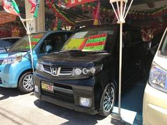 沖縄の中古車 ホンダ ゼストスパーク 車両価格 54万円 リ済込 平成22年 9.7万K ブラック