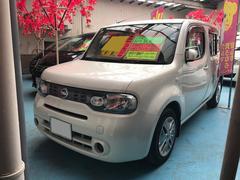 沖縄の中古車 日産 キューブ 車両価格 48万円 リ済込 平成22年 9.2万K パール