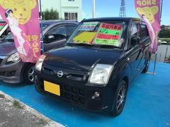 沖縄の中古車 日産 ピノ 車両価格 23万円 リ済込 平成19年 4.5万K ブラック