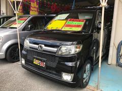 沖縄の中古車 ホンダ ゼスト 車両価格 37万円 リ済込 平成20年 9.5万K ブラック